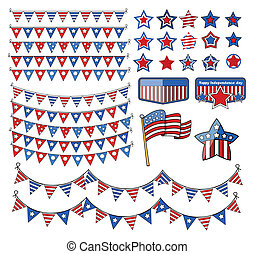 design elements - 4th of july