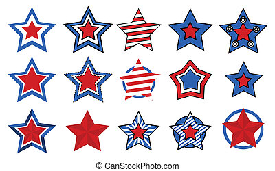 stars vectors for - 4th of july