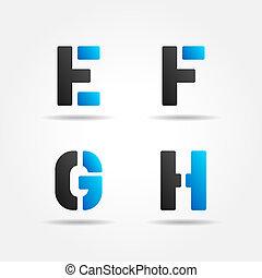 EFGH blue