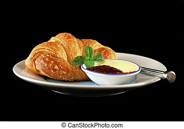 Croissant With Jam 3