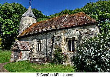 St Peters Church, Southease, East Sussex - St Peters, a...