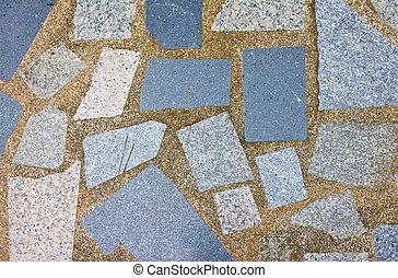 stone floor - texture of stone floor for background