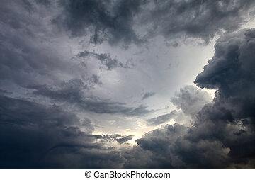Cloudscape, Plano de fondo