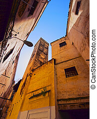 Old Medina in Fes, Morocco - View of the Old Medina in Fes,...