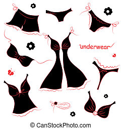 underwear design - it is done in the program illustrator