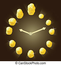 concept  relationship between time and money