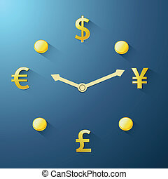 Currency time passing