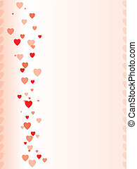 Valentine day greeting design
