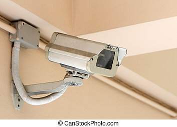 old security camera