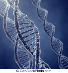 Genetic engineerring - Dna double helix molecules and...