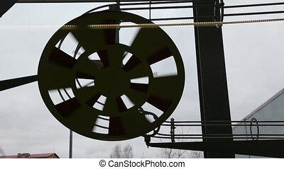 spinning fan
