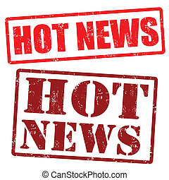Hot News stamps