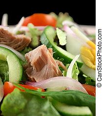 Tuna And Egg Salad - Freshly prepared tuna and egg salad...