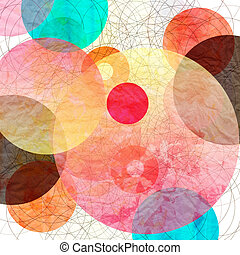 abstract background - bright colorful abstract background of...