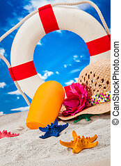 Sea and beach theme - Holiday concept