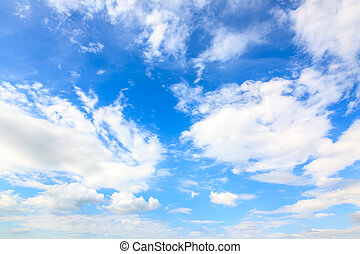 Blue sky and clouds - Beautiful blue sky and clouds...