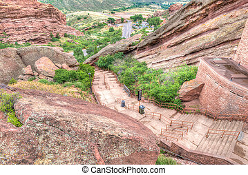 Red Rocks Theater Colorado - The Red Rocks Amphitheater...