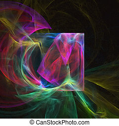 Abstract Design - Colorful abstract shape and pattern