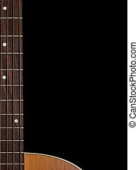 Guitar string background