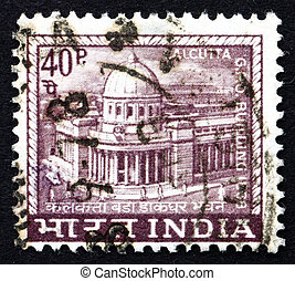 Postage stamp India 1968 General Post Office, Calcutta -...