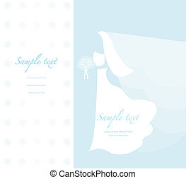 Soft wedding background