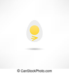 scrambled eggs icon