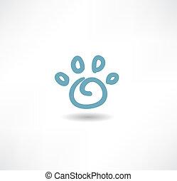 The print icon dog leg