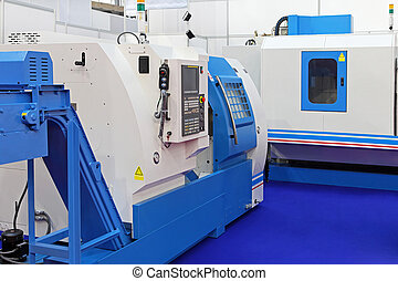 Production machines - CNC Lathe machines for metal...