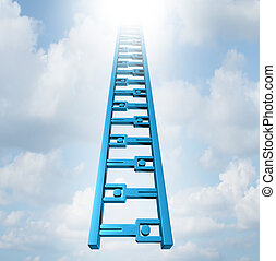Team Ladder - Team ladder of opportunity and group support...
