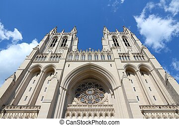 Washington National Cathedral - Washington DC, capital city...