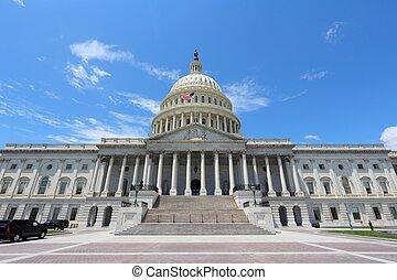 Washington DC, capital city of the United States National...