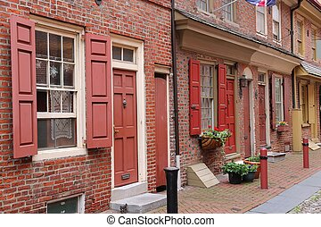 Philadelphia Historic District - Philadelphia, Pennsylvania...