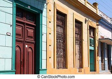 Cuba architecture - Matanzas, Cuba - city architecture...