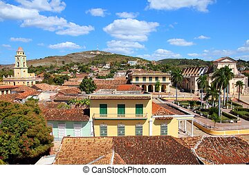 Cuba - Trinidad - Trinidad, Cuba - colonial town cityscape....