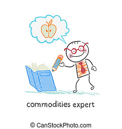 commodities expert writes in the book and thinking about the apple
