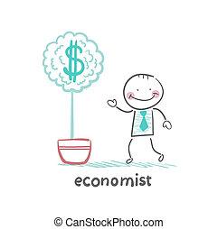 economist grow a money tree