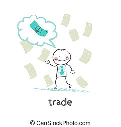 trade thinks about money