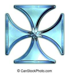 Maltese cross.