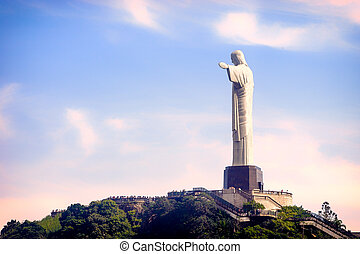 Christ The Redeemer - Christ the Redeemer statue on the top...
