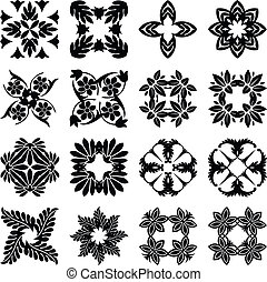Indian Floral Icons