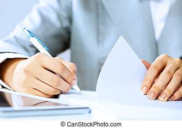 firma, documentos