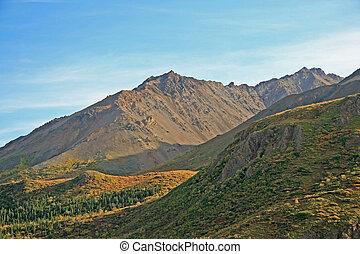 Alaskan Frontier - The beauty of the Alaskan landscape in...