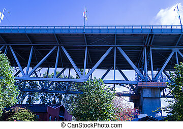 view underneath granville bridge - the view underneath...