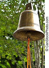 Buddhist wishing bell, Thailand - Tradition buddhist wishing...