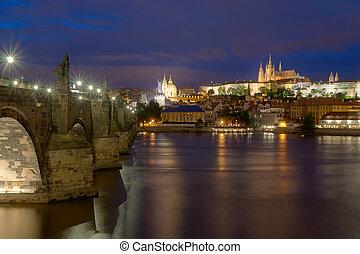 Prague landmark Charles Bridge