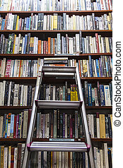 The bookshelf of knowledge