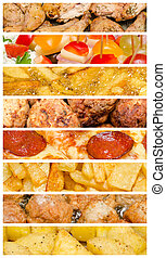 Delicious Food Collage