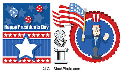 Presidents Day Graphic Background