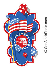 Happy Presidents Day Banner