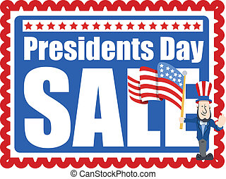 Presidents Day Sale Template - Presidents Day Sale Stamp...